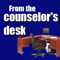 from the counselors desk