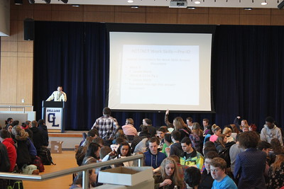 Juniors prepare for next week's  ACT and begin to feel the stress of the test. Photo by Natalie Herson