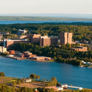 Michigan Tech boasts over 925 acres of land, 7,000 students, and 130 years of experience. Photo courtesy of Michigan Technological University Photo Services – Under CC BY SA 3.0