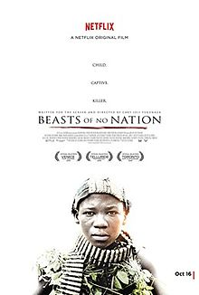 Theatrical Poster of Beasts of No Nation. Courtesy of Netflix