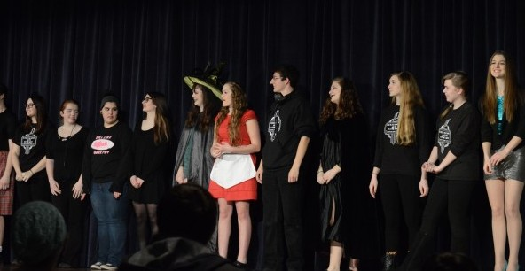 Last years PAC team after performing their competed production. Photo by Megan Hamman.