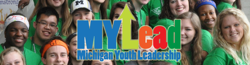 Logo for the MYLead Michigan Youth Leadership, a conference for Michigan high school student to become better leaders. Photo courtesy of mylead.org
