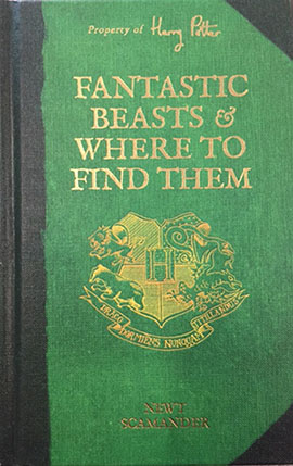 Fantastic beasts and where to find them book series