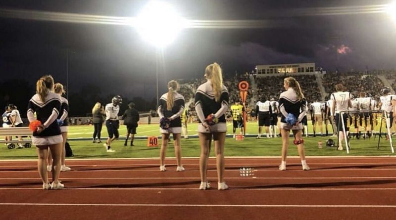 Brie Rice talks about her experience as a cheerleader