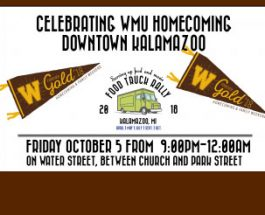 Kalamazoo's food truck rally returns just in time for the WMU Homecoming