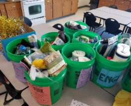 DRAW Buckets draw successful donations