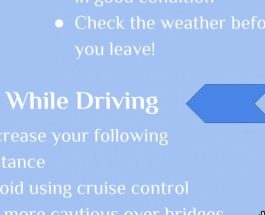 How to stay safe driving this winter