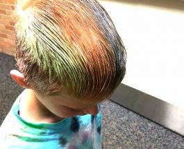 Richland Elementary's spirit week calls forth a parade of color
