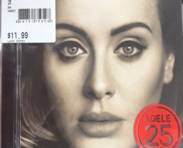 Adele's album 25 draws attention