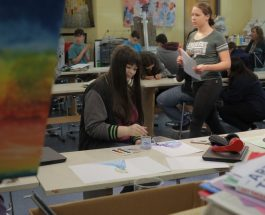 Gull Lake High School launches new Peer-to-Peer Art Therapy course