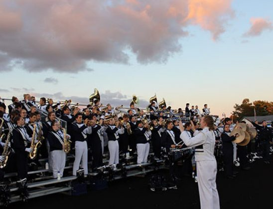 GLHS marching band impresses at the MSOBA Festival