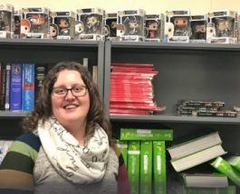 ELA teacher Cristy Connellee collects Funko Pop! figurines and student memories