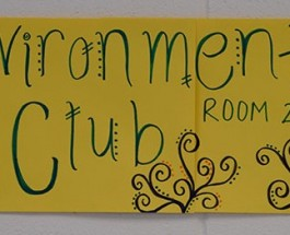 Environmental Club sets goals for fundraising
