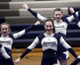 Cheer team excel in Blue Devil Invitational
