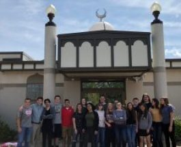 Gull Lake History of Human Thought class visits Kalamazoo Islamic Center