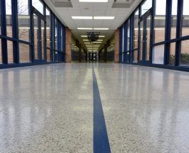 Our Side: The blue tape on the halls in GLMS taught us 'direction'