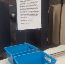 Anonymous senior helps women by providing free feminine products