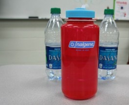 Students raise awareness: one plastic bottle at a time