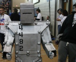 Gull Lake High School hosts 2014 Robotics competition
