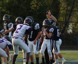 With 3 wins and 2 losses, what's next for JV Football?
