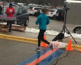 Sarah Donovan goes the distance in the Portage Winter Blast