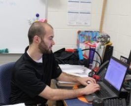 Intern Kyle Roberts takes on full-time position