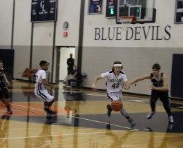 Gull Lake Boys JV Basketball loses to Portage Central