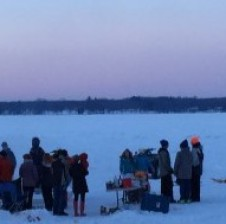 Gull Lake slips back into winter with ice festivities