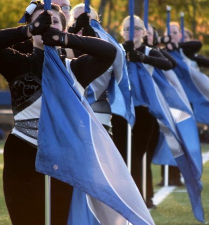 GLHS Winter Guard suffers drop in participation