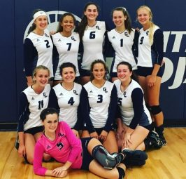 Gull Lake volleyball wins first conference match
