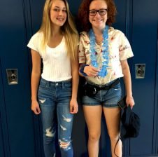 Two freshmen experience new life at high school