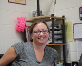 Math department welcomes back Annemarie Gerrish