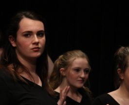 Advanced Musical Theatre EFA students perform in Winter Informance