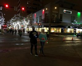 Gazelle Sports hosts Running Through the Lights in Downtown Kalamazoo