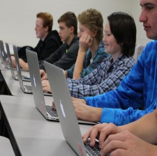 Gull Lake journalism room replaces PCs with Macs