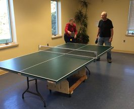 Weekly Table Tennis excites people at Community Center