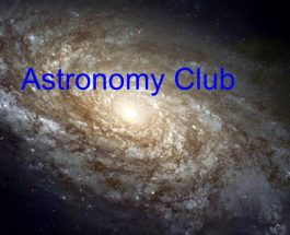 Astronomy Club launches into 2018
