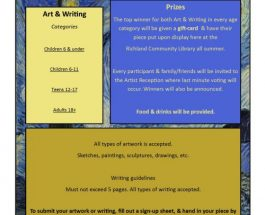 Richland Community Library hosts Art and Writing Contest