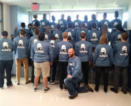AP Calculus dons personalized apparel in school tradition