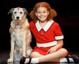 Tasha Harrison's class attends Annie at Miller Auditorium