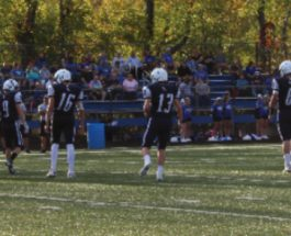 Gull Lake JV Football team defeats Harper Creek