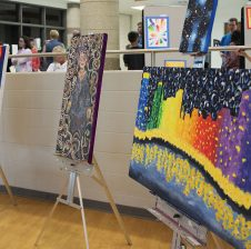 High school transforms into multimedia art gallery for Festival of the Senses