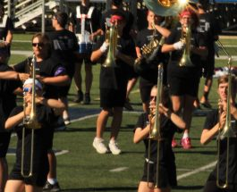 GLHS marching band introduces new show The Raven