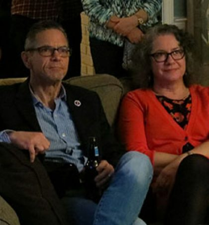 Mark and Christine Schauer speak on the importance of young people in politics