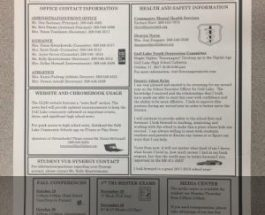 Counselors send out informational newsletter