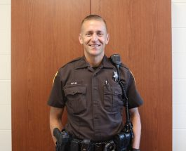 Officer Kelm talks about Gull Lake safety
