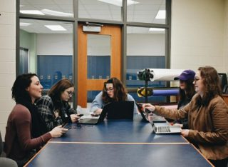 Poetry Club prepares to share work at upcoming poetry reading